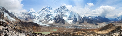 Mount Everest Khumbu Glacier Nepal Himalayas mountains