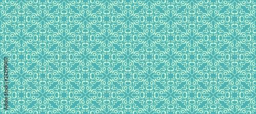 Seamless pattern, green wallpaper
