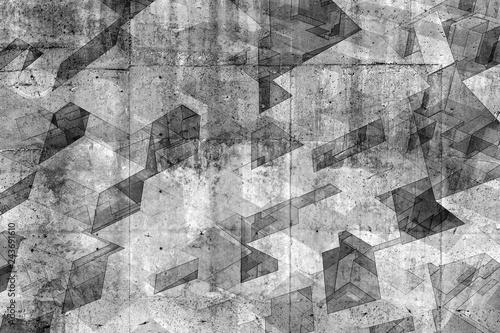 Abstrakta tła betonowy wzór, 3d odpłaca się