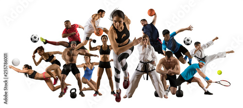 Ogromna szkoła sportowa, lekkoatletyka, tenis, piłka nożna, koszykówka itp