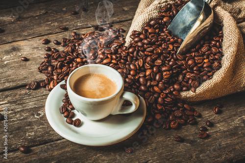 tło do kawy