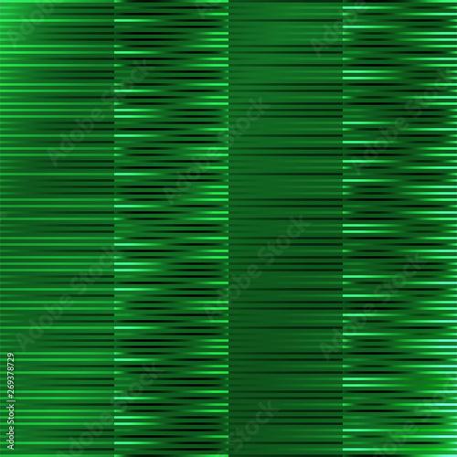 Seamless green wallpaper, vector illustration