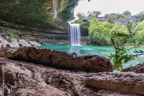 Inside the Hamilton Pool Preserve in Austin, Texas