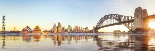 Panorama Sydney schronienie i most