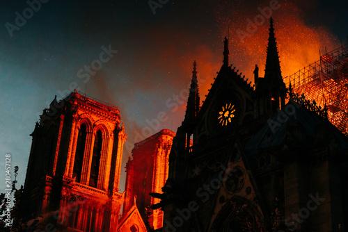 Ogień katedry Notre Dame