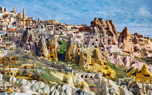 Mountains of Cappadocia