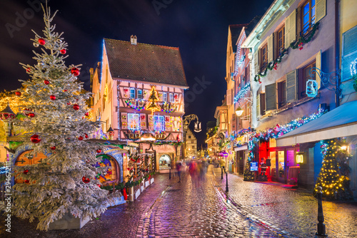 Old town of Colmar, Alsace, France