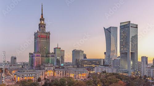 Centrum Warszawy, stolica Polski
