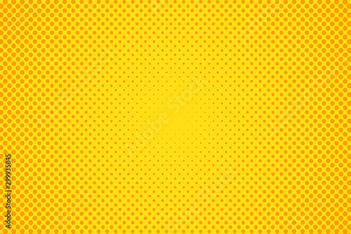 Pop art halftone dots background.