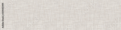 Natural White Gray French Linen Texture Background. Old Ecru Flax Fibre Seamless Pattern. Organic Yarn Close Up Weave Fabric for Wallpaper, Ecru Beige Cloth Packaging Canvas. Vector EPS10 Repeat Tile