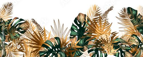 Seamless jungle background