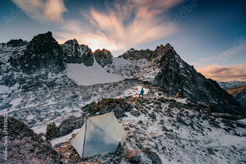 Winter comes to the Enchantments