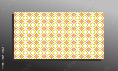 Ilustrations vector graphic of Abstract ornament orange wallpaper. suitable for wall, cover, banner, flayer or other business. vector eps 10.
