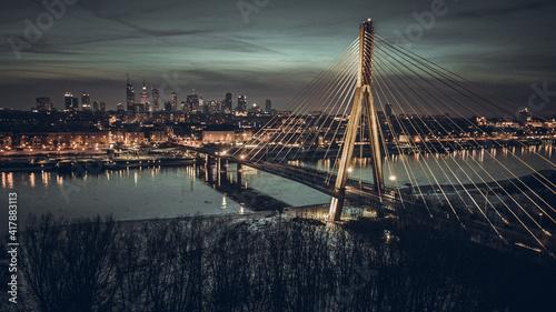 Poland Warsaw in winter