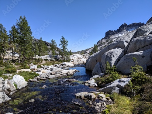Boulders of the Enchantments, Washington State