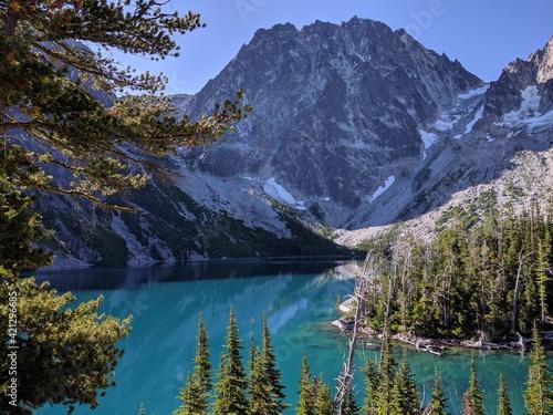 Colchuck Lake in the Enchantments, Washington State