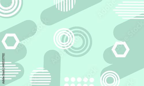 abstract modern geometric pastel green wallpaper background