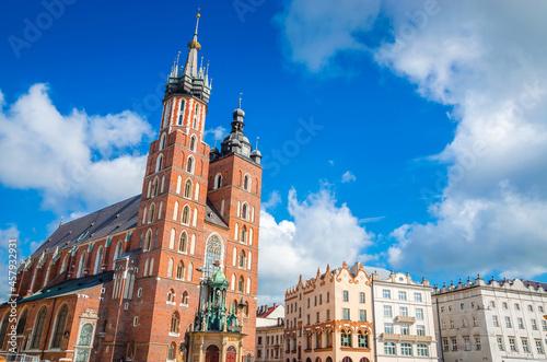 Basilica of Saint Mary in Krakow, Poland