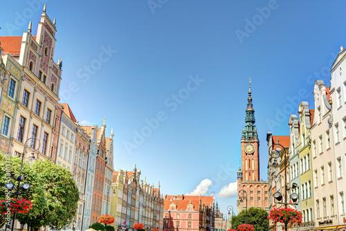 Gdansk Old Town, Poland, HDR Image