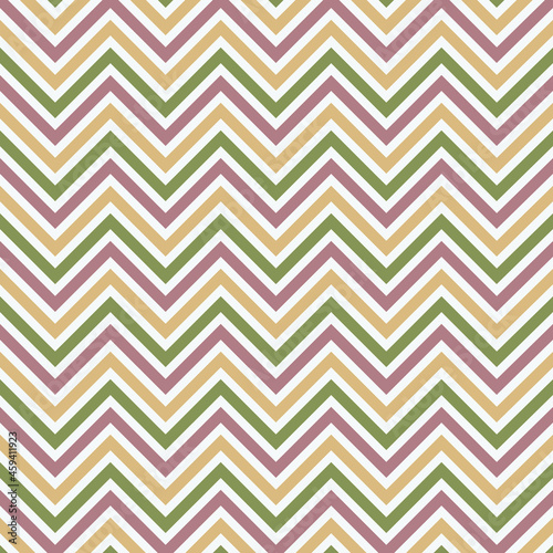 Simple chevron Zig Zag Pattern. Abstract Natural colors waves seamless pattern. geometric background.