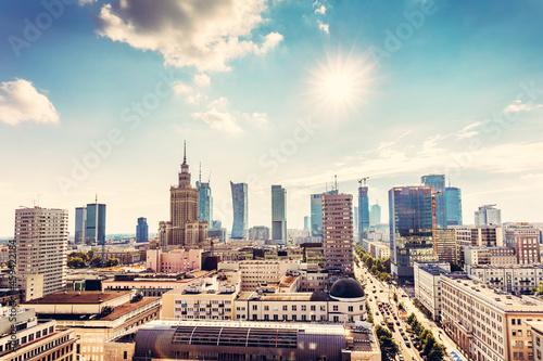 Warsaw, Poland panorama