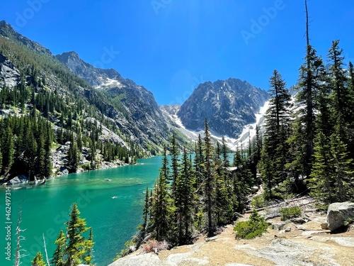 Lake Colchuk in Leavenworth, WA. Enchantments Trail