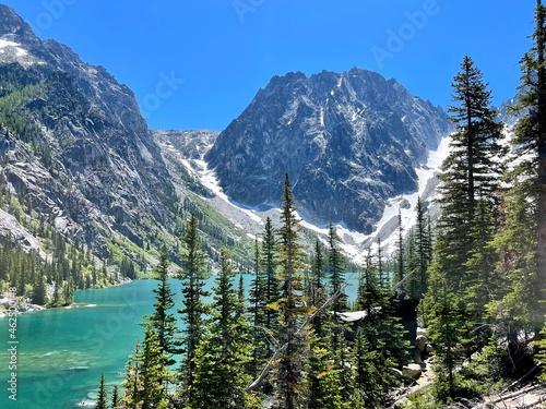Colchuck Lake in Washington The Enchantments Trail